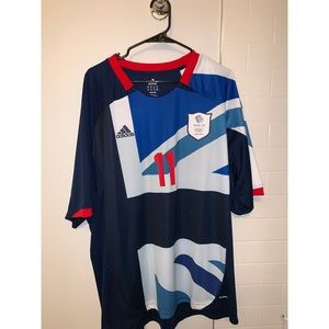 RARE ADIDAS TEAM GB RYAN GIGGS JERSEY